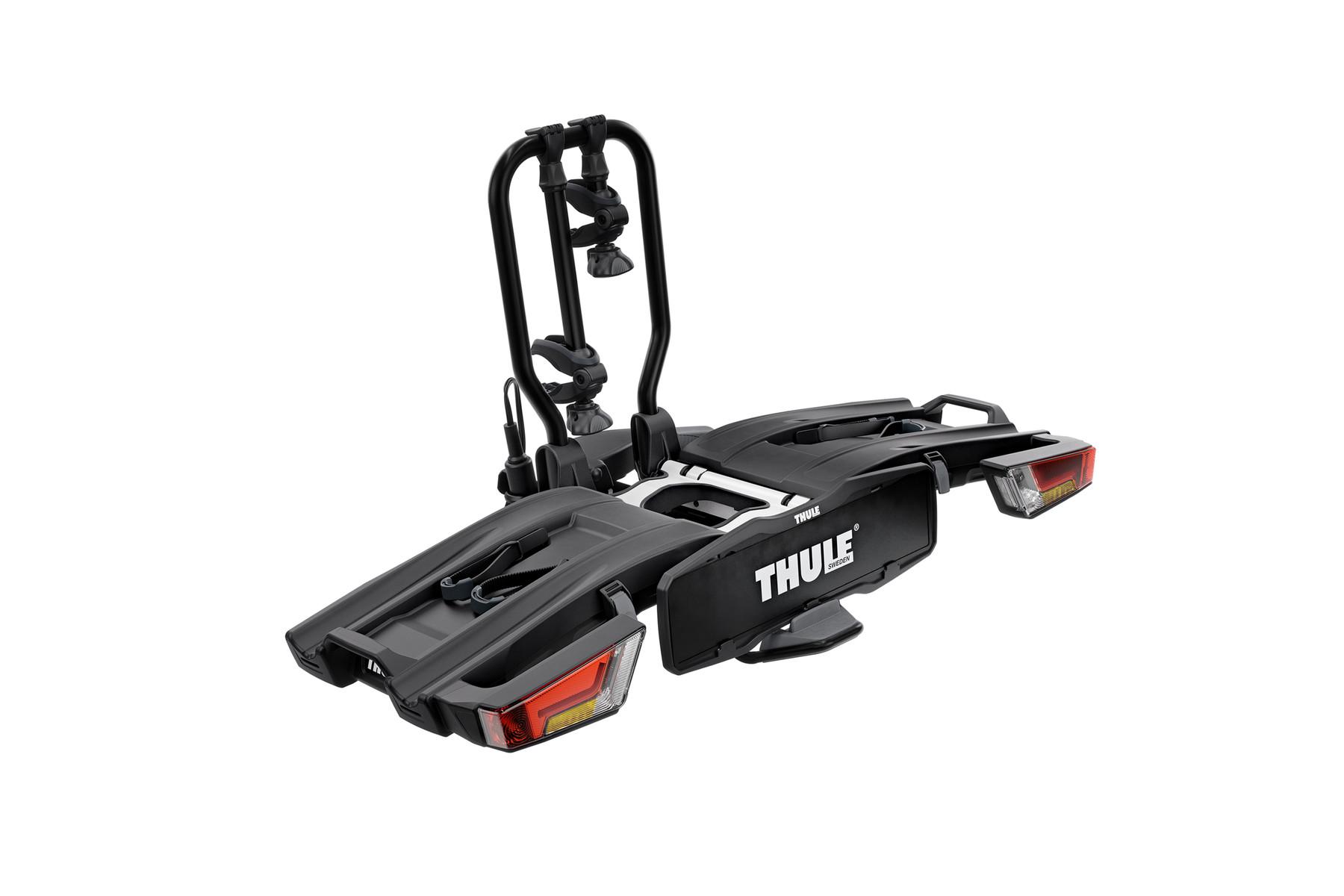 THULE 933 EasyFold XT2 Black Edition incl. Transporttasche und faltbarer Laderampe