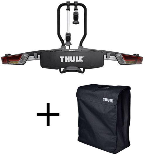 THULE 933 EasyFold XT 2er incl. Transporttasche und EURO-DIN Kennzeichen