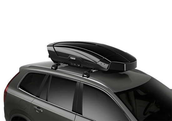 THULE Dachbox Motion XT M black glossy Volumen 400 Liter